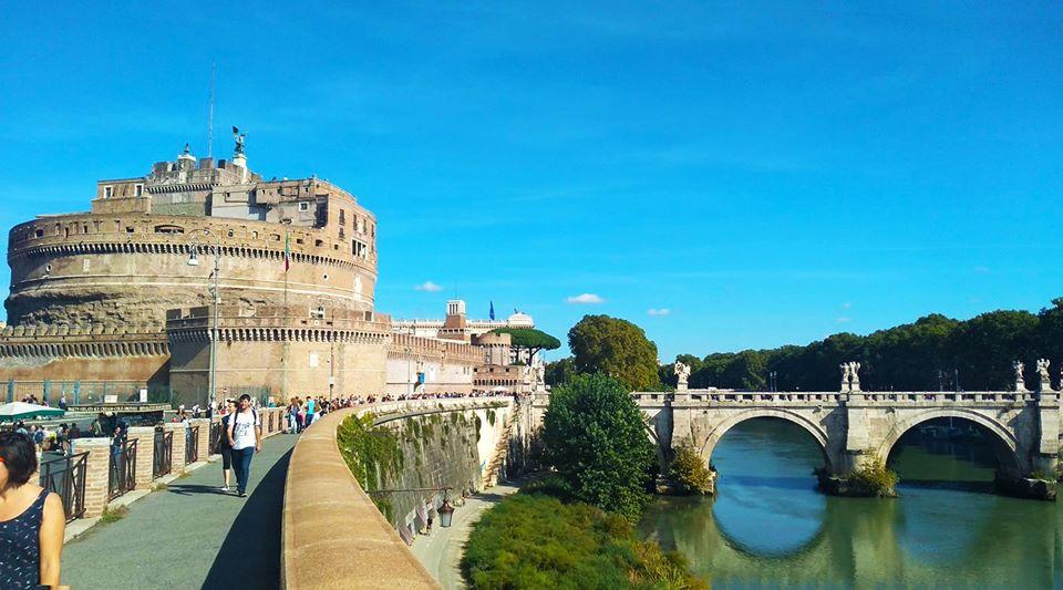 castel-sant-angelo-castello-fiume-ponte-cielo-sky