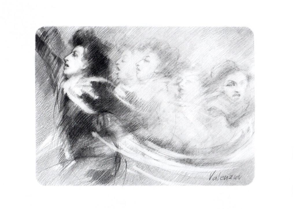 donna-matita-sfumata-profilo