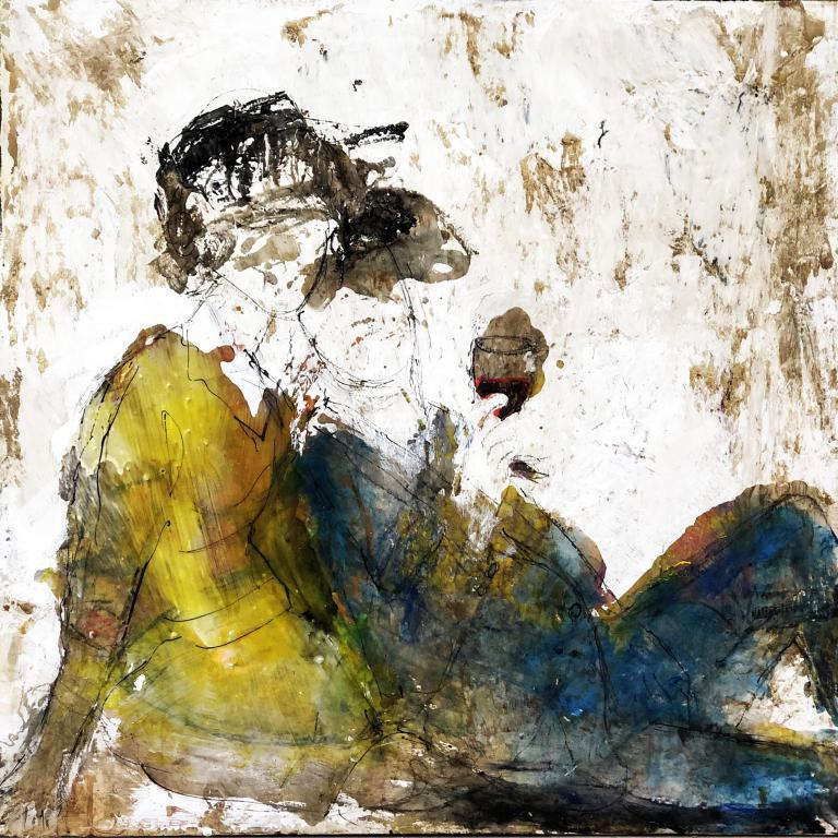 painting-man-woman-glass-of-wine