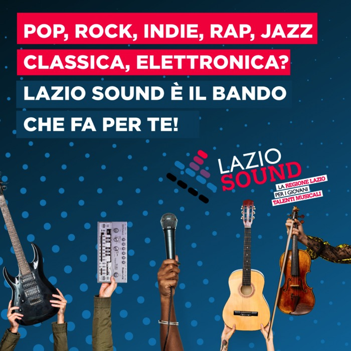 pop-rock-indie-rap-jazz-classica-elettronica-lazio-sound-bando