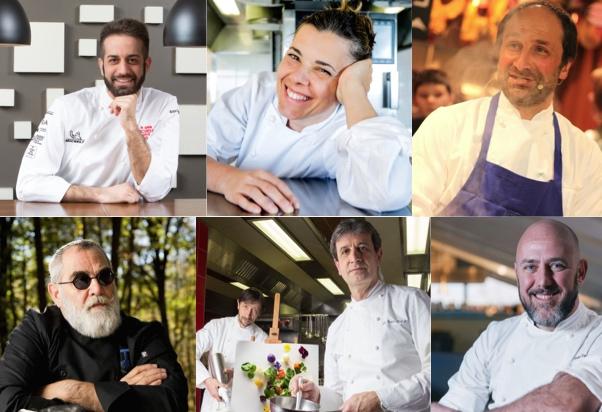 chef-collage-uomini-donne-sorridono