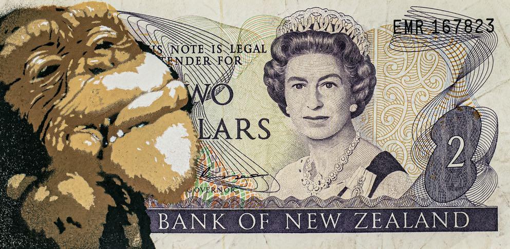 banconota-banknote-regina-elisabetta-scimmia-new-zealand