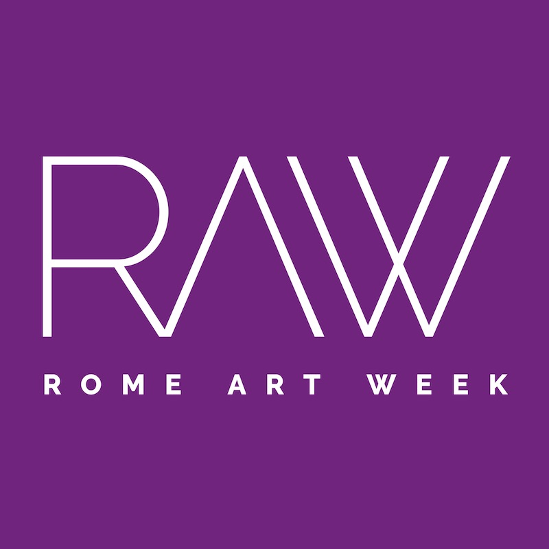 raw-rome-art-week-purple-viola