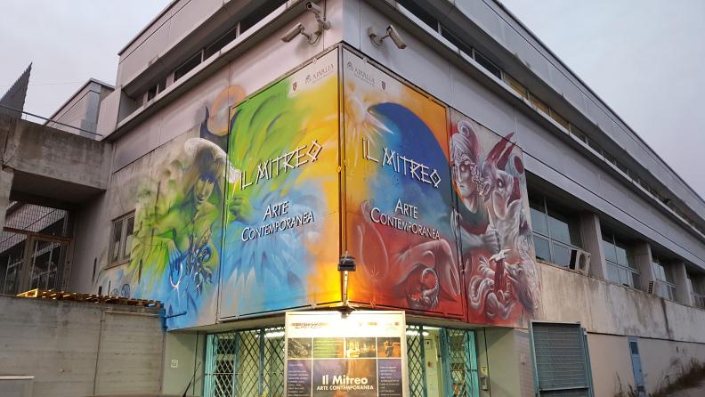 galleria-mitreo-murales