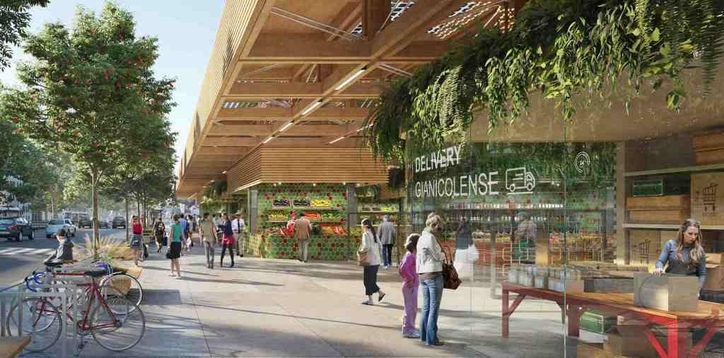 alberi-verde-legno-tetto-bici