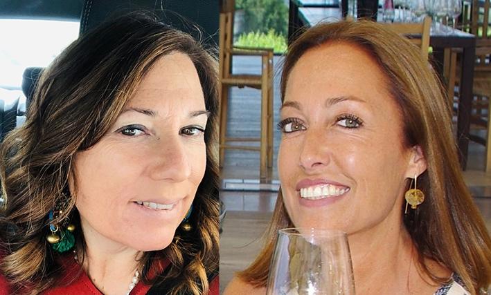 ragazze-visi-vino-bicchiere-sorriso
