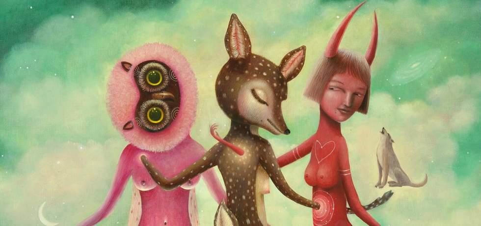 animali-figure-rosso-rosa
