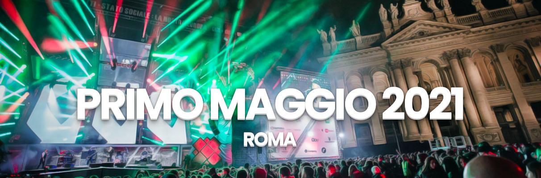primo-maggio-2021-roma-luci-chiesa