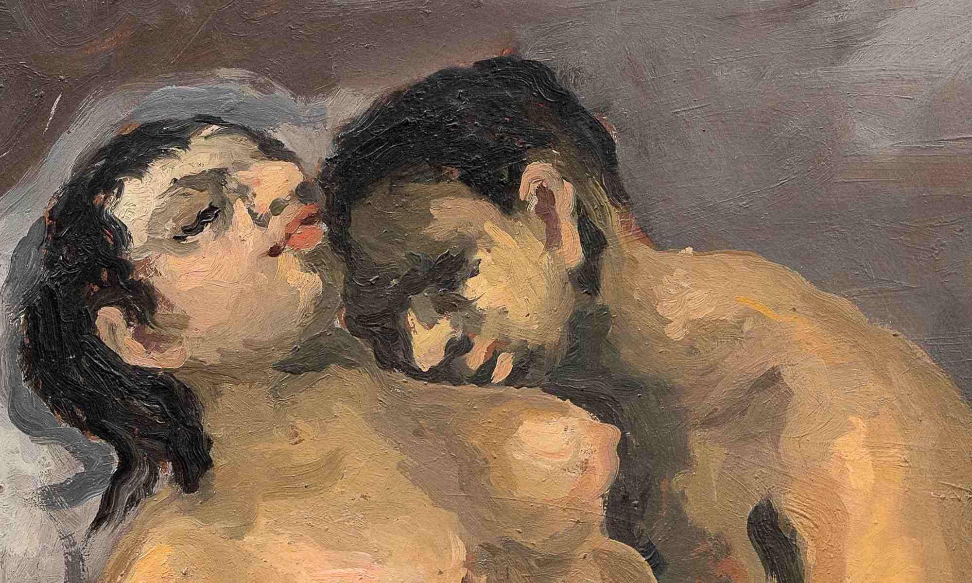 uomo-donna-seno-labbra