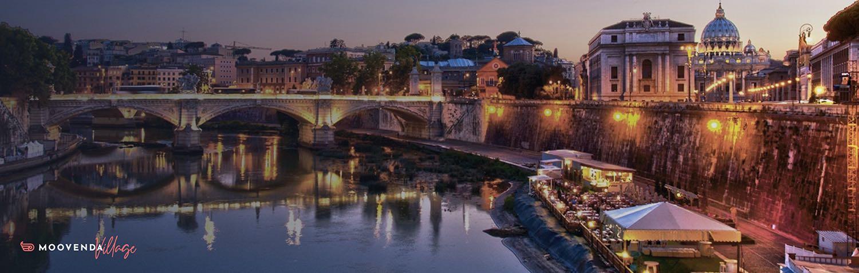 fiume-lungotevere-barcone-luci-ponte-monumenti