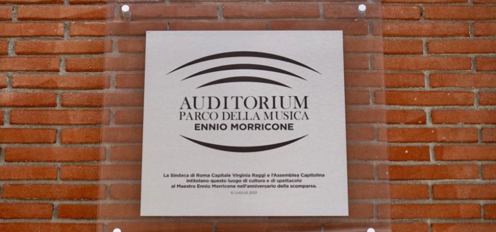 auditorium-parco-della-musica-ennio-morricone-mattoni-targa