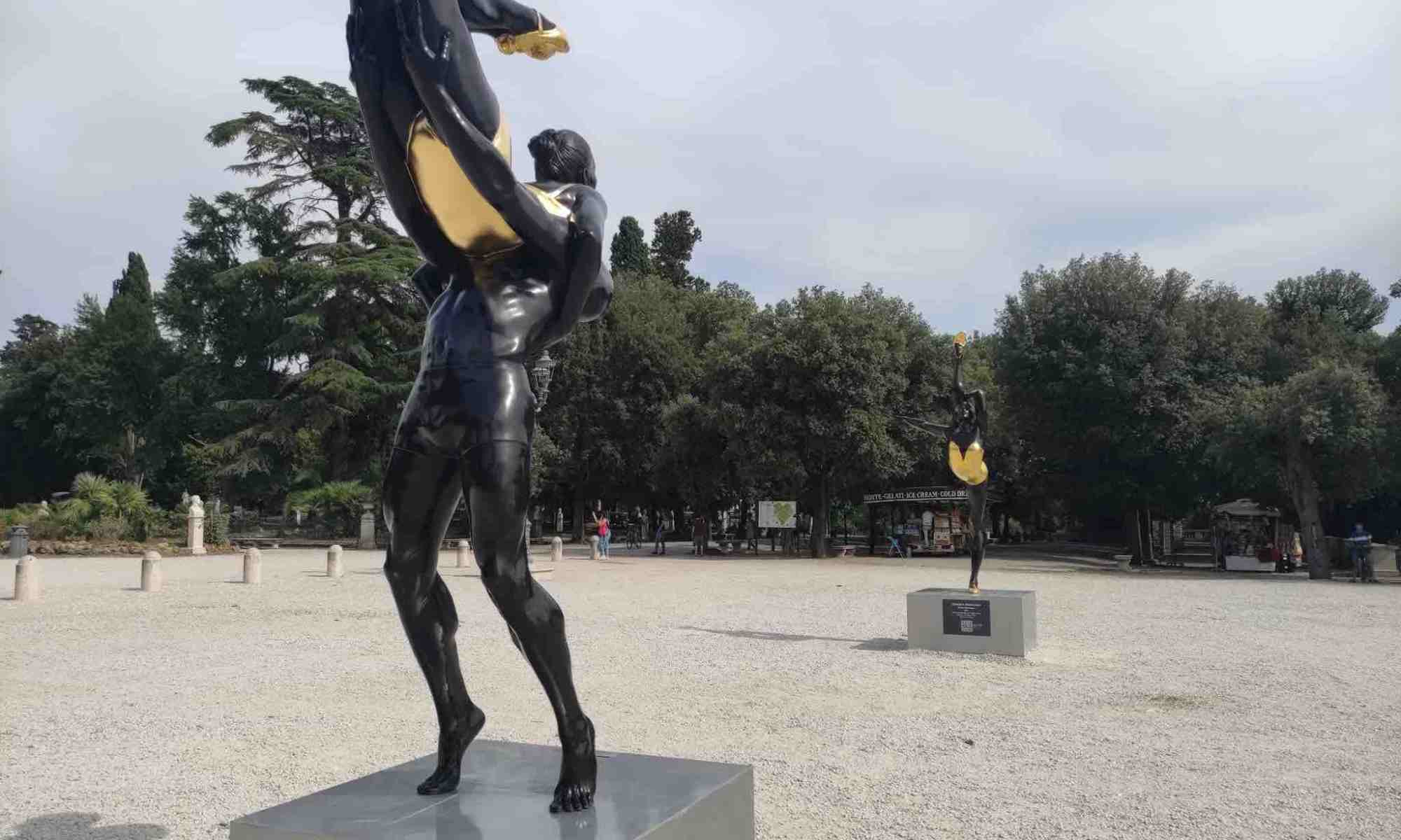 statue-sculture-danza-terrazza