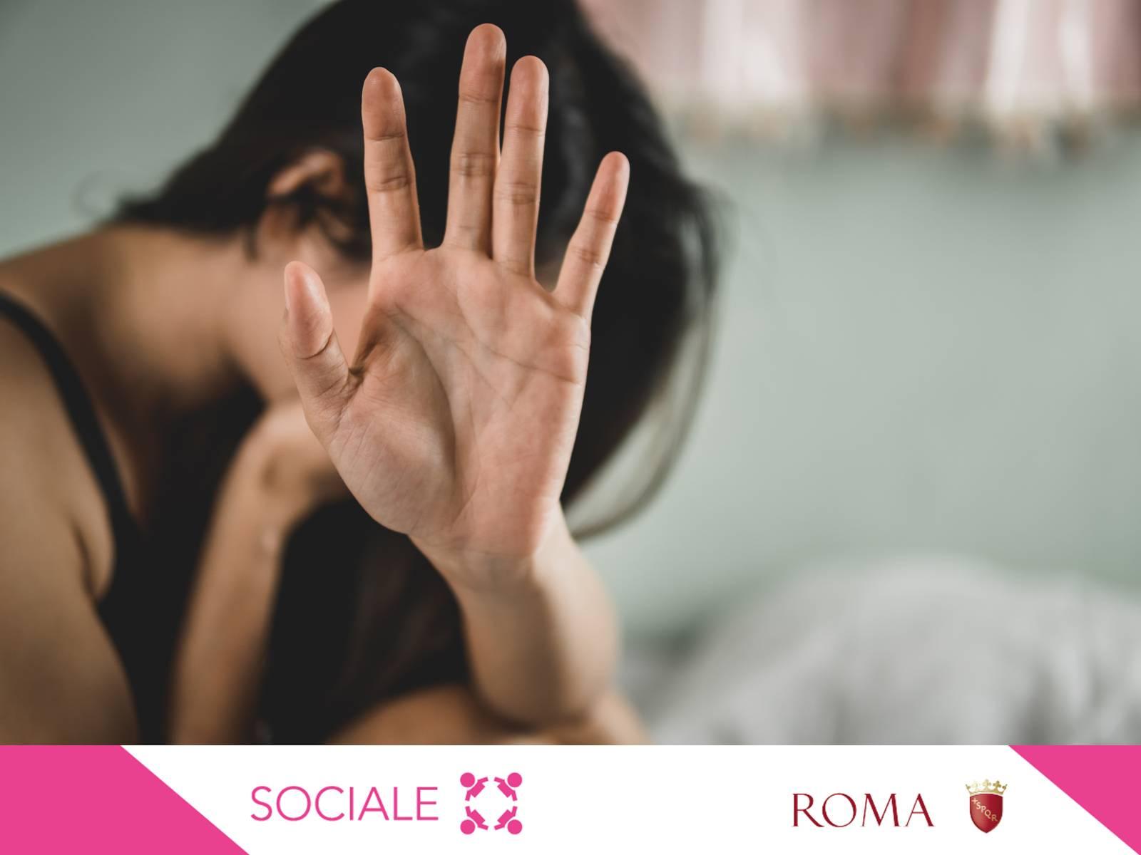 donna-mano-sociale-centri-antiviolenza-roma