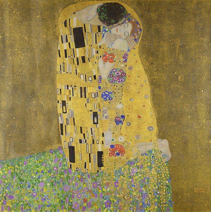 klimt-il-bacio-oro-quadro